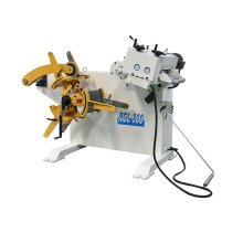 Combo decoiler straightener machine