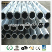 7075 perfil de alumínio extrusão anodizada tubos de octógono fornecedor de porcelana