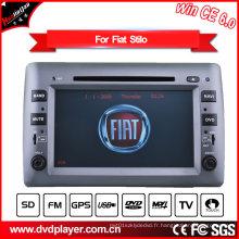 Lecteur DVD de voiture pour FIAT Stilo Navigation GPS Pod TV HD écran tactile
