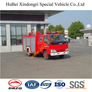 2500L Isuzu 4 * 2 LHD Rhd Camión De Bomberos De Agua Euro4
