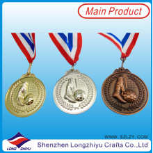 Custom Medals Ribbons Metal Commemorative Medals of Honor Sports 2014 Custom Football Medals Ribbons Metal Commemorative Medals of Sports