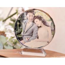 Cristal vierge pour cadre photo ou cadeaux laser intérieur