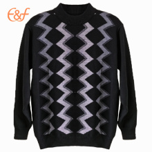 Latest Style Long Sleeves Customized Men Sweater Design