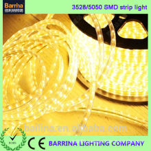 CE ROHS certificated IP65 waterproof flexible led strip lights 220v