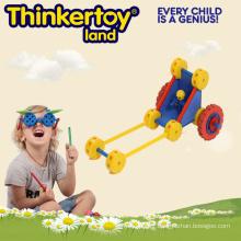Boy Park Car Plastic Interlocking Garden Amusement Toy