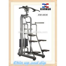 Queixo para cima e mergulho Fitness Equipment / Gym Equipment / máquina de força