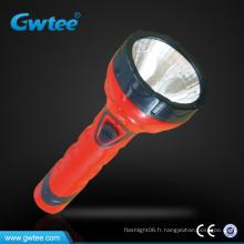 Lampe de poche rechargeable à main pressée haute puissance