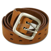 Military Leather Belt high quality cowhide leather Buckle high-strength alloy
