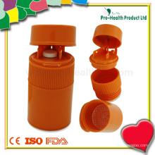 Broyeur à pilules en plastique multifonction avec boîte à coupe à comprimés