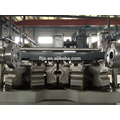 High quality HDPE steel reinforce pe pipe production line