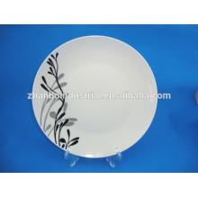 Restaurante platos de cerámica platos