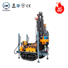 pneumatic drill rig  geotechnical rock drilling machine HWY160 for hot selling  rotary Drilling Rig