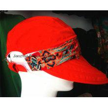 Chapéu da forma do verão Chapéu do pescador Senhora Chapéu do sol