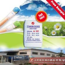 China Top 10 Hersteller Anatase Titanium Dioxide A101