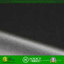 Poliéster a rayas 4 vías Spandex tela revestida de tejido usando