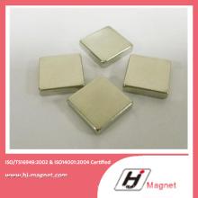 China fabricação de alta qualidade zinco ímã de NdFeB bloco