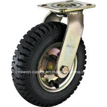 Serie neumática de la rueda - rueda de goma