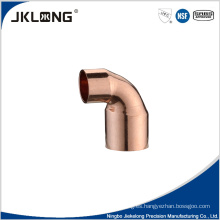 Piezas de aire acondicionado conexión de tubería de cobre codo de cobre