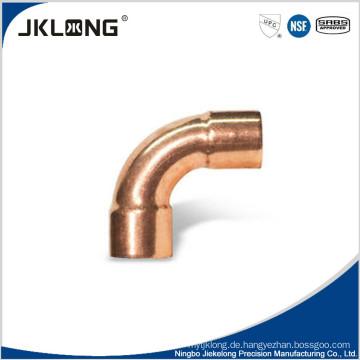 UPC, NSF zertifiziert Zhejiang Kupfer Rohrverschraubung CXC 90 Grad lange Ellenbogen