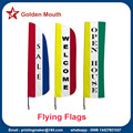 Custom Advertising Feather Sail Flags Banners