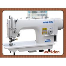 WD - 5200d alta velocidade lado cortador Lockstitch máquina de costura da Industria