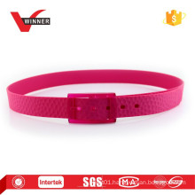 New style women fashion belts in silicone