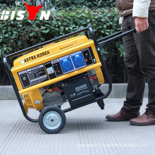BISON(CHINA) 100% Copper Wire Prices With Wheel 4kw Gasoline Generator
