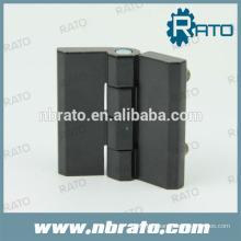 Charnière de porte noire RH-186A avec revêtement en poudre