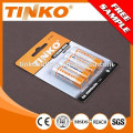 FR6 AA 2900mAh1.5V lithium battery with high capacity and OEM welcomed