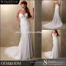 Новый Модный специальный дизайн шифоновое платье страна западные свадебные платья