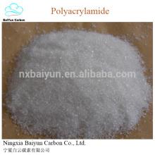 floculante aniónico de poliacrilamida PAM para agente deshidratante de lodo