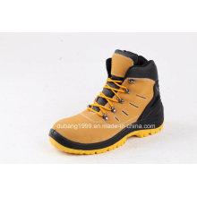 Sapatos de segurança em couro Calçados esportivos Sapatos de trabalho em moda Botas de borracha