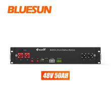 Bluesun storage 2.4kwh lithium solar battery 48v 50ah  for solar energy storage system