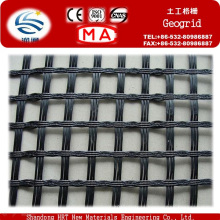 Manufacturer PP Uniaxial Plastic Geogrid 20/20kn