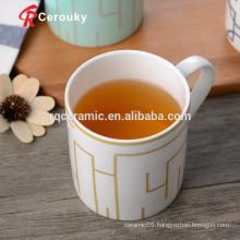 Low Minimum Order Quantity custom made printed porcelain mug