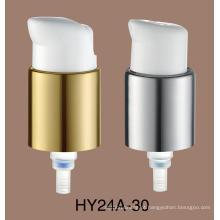 Venda quente PP Material 24/410 Branco Plástico Loção Bomba Cuidados Com A Pele Loção Bomba