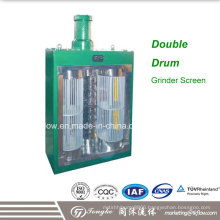 High Flow Double Drum Sewage Water Grinder and Screen