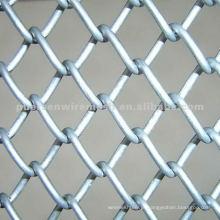 Galvanizado Chain Link Esgrima Malha 11gauge