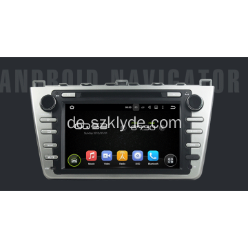 Android Silber MAZDA 6 Player