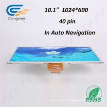 Ultra-breiter Betrachtungswinkel 10,1 Zoll 40 Pin Farbe (RGB) Anzeigen