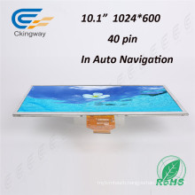 Ultra Wide Viewing Angle 10.1 Inch 40 Pin Colour (RGB) Displays