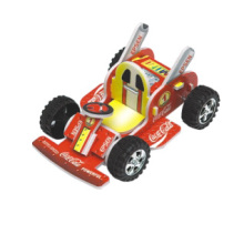 Pull Back Karts 3D Puzzle