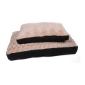 Pet Bed Rect. Top de felpa