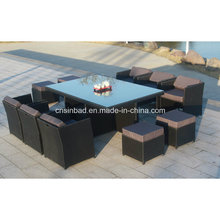 Wicker Furniture for Outdoor with 180*115*74 Cm (6218-1)