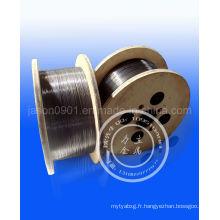 Fil d'acier étiré à froid 0.15-15.0mm / Fil d'acier breveté spécial amélioré