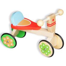 Super bonito crianças madeira equilíbrio bicicleta