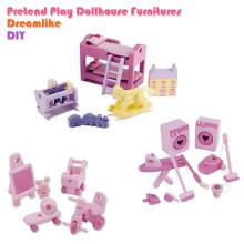Wholesales Kids Wood Mini Furniture Toys