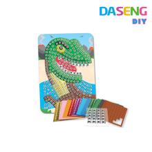 Клейкие мозаичные наборы для искусственной пены для детей
