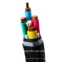 Câble d'alimentation blindé en acier isolé en PVC (3-120 + 1-70)