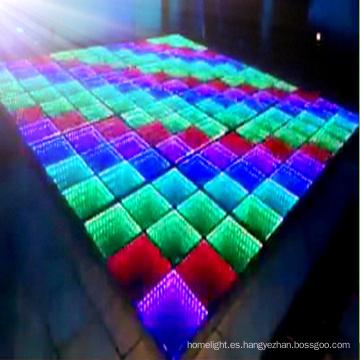 3D Espejo de vidrio LED Dance Floor